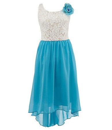 Pretty blue dress :)