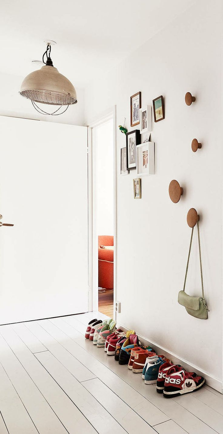 10 clever ways to use The Dots Wall Hooks in your Home, via We-Are-Scout.com.
