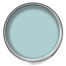 Wilko Colour Matt Emulsion Paint Duck Egg 2.5ltr