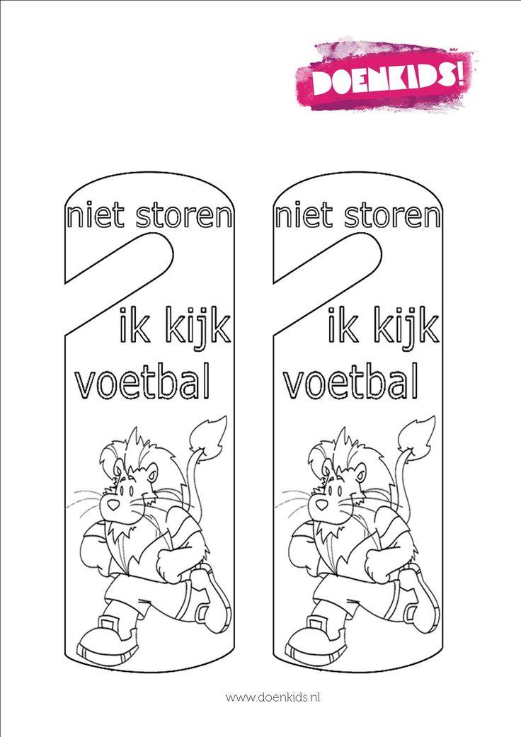Deurhanger - Niet storen www.activitheek.nl
