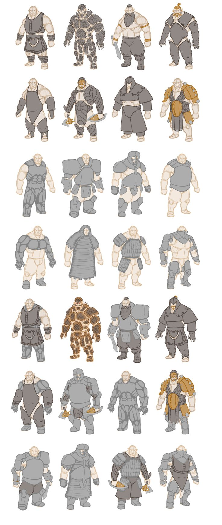 Dwarf concept variation
