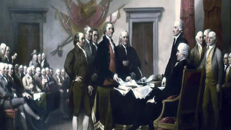 In Philadelphia, the Continental Congress adopts the Declaration of Independence, which proclaims the independence of a new United States of America from Great Britain.
