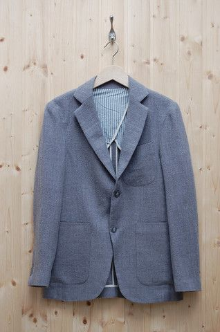 Three Animals Fine Wool Blazer Light Grey – trueffelschwein