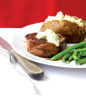 roast beef tenderloin with caesar crust did it with pork and was great ...