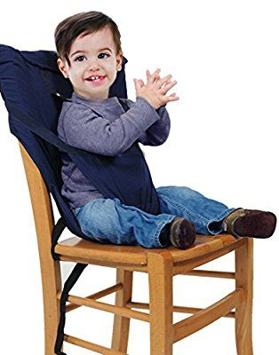 Baby Portable High Chair Seats Cover Safety Harness Toddler Foldable Safety Sack Belt, Rose: Amazon.ca: Baby