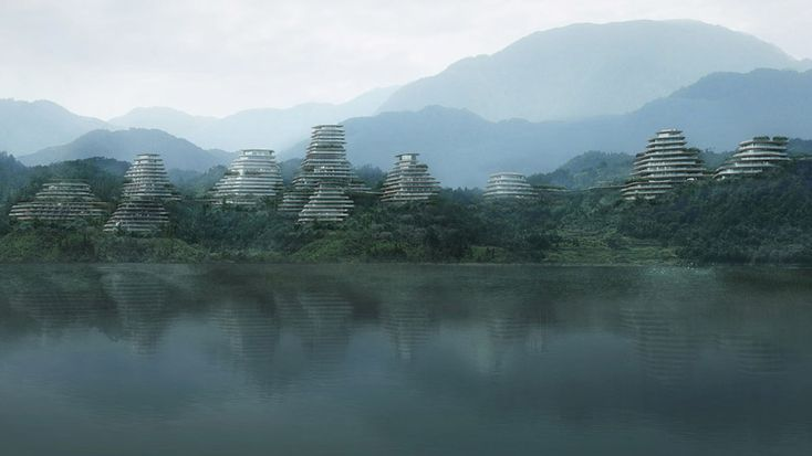 MAD architects: huangshan mountain village, china