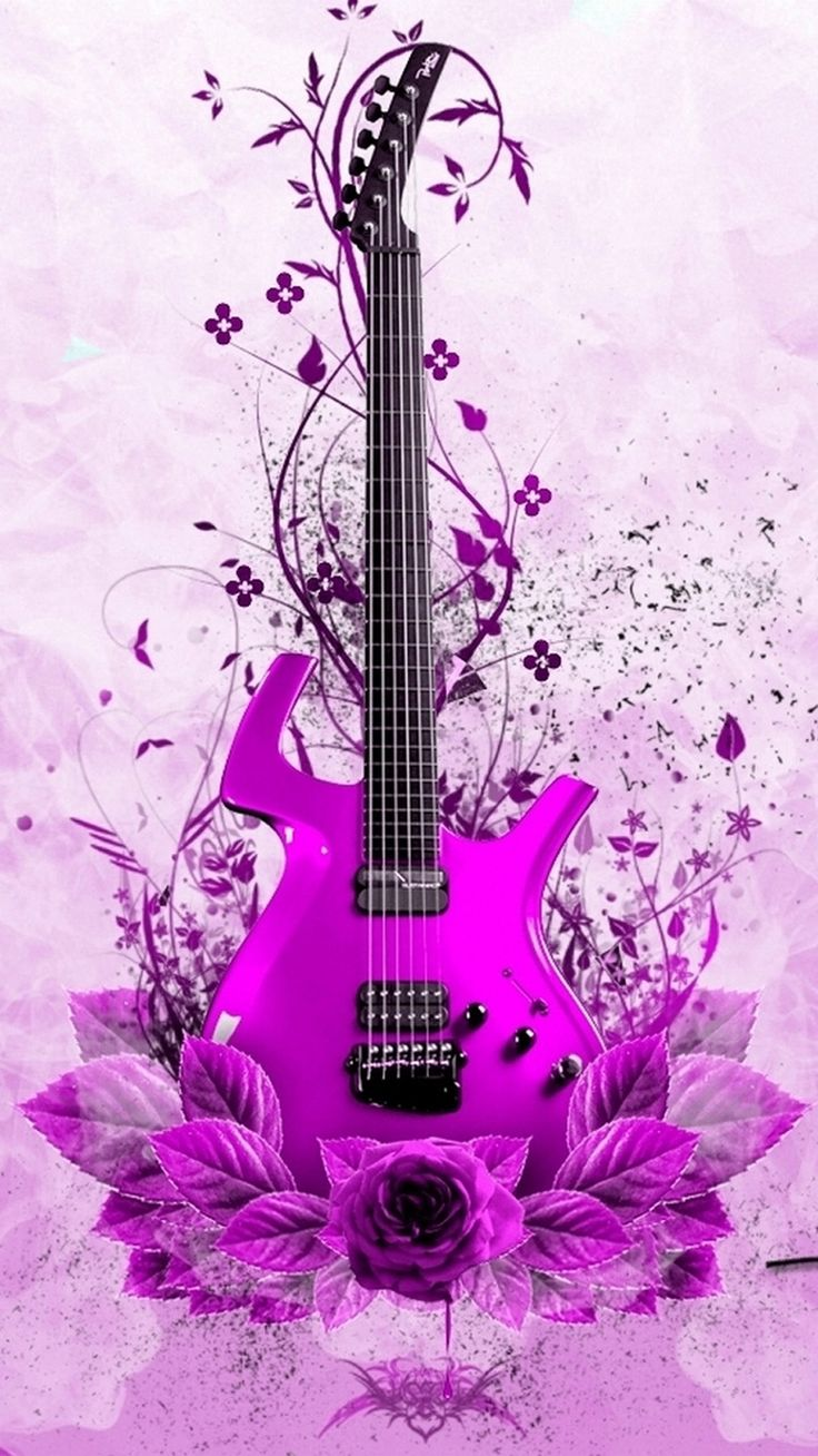 17 best images about guitar wallpapers on pinterest neon wallpaper pink guitar and wallpaper. Black Bedroom Furniture Sets. Home Design Ideas