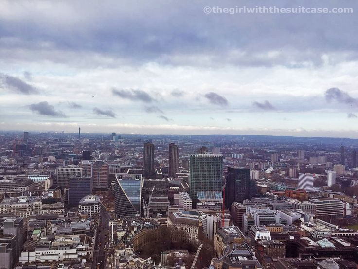 Vista su Londra dall'Heron Tower, London, Greater London