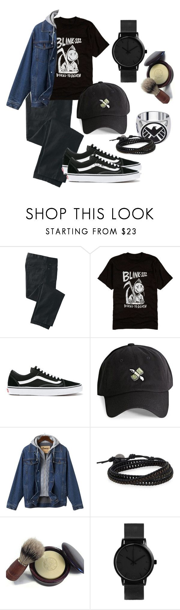 """""""Untitled #214"""" by fabiana-11 on Polyvore featuring TravelSmith, Vans, 21 Men, Jan Leslie, men's fashion and menswear"""