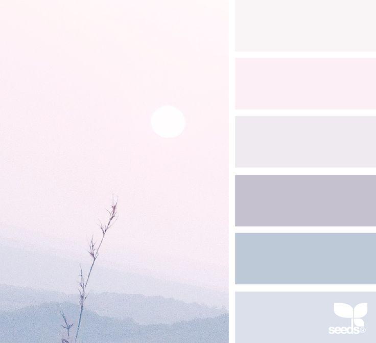 { heavenly hues } image via: @anamarques210376  #color #palette #colorpalette #pallet #colour #colourpalette #design #seeds #designseeds