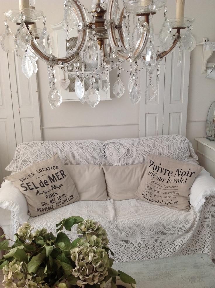 die besten 25 shabby chic kissen selber machen ideen auf. Black Bedroom Furniture Sets. Home Design Ideas