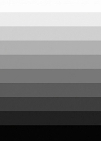 Fill in the blank:  A healthy human eye can distinguish between _____different shades of grey.  a) 100  b) 500  c 20