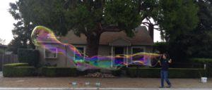 Giant bubble solution
