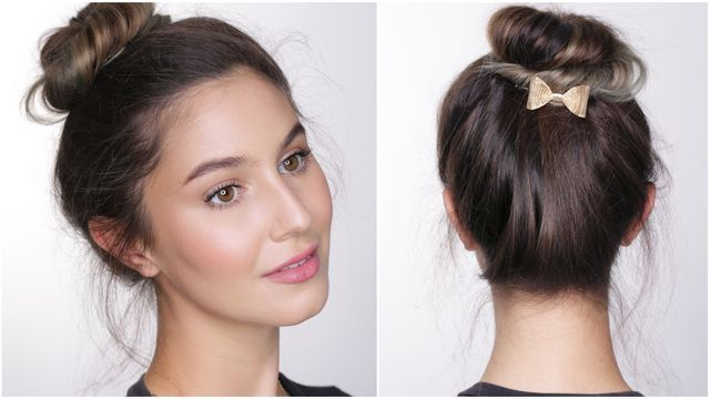 A minimal makeup look for school or college that only takes 10 minutes! It's long lasting AND affordable :) Also a messy bun hair tutorial that is so simple (if I can do it, you can too!). Hope you en