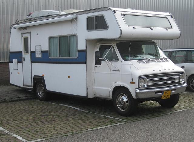 dodge sportsman camper van unusual rvs caravans motorhomes pinterest kid