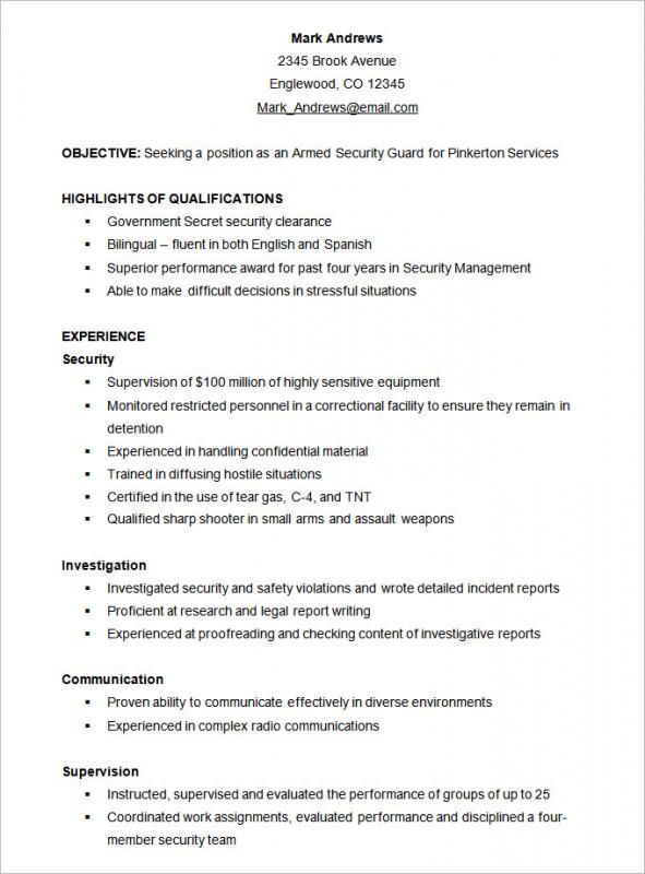 Functional Resume Template Check more at