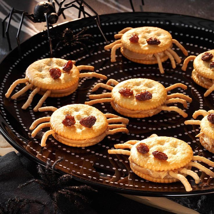 Spooky Spider Snacks Recipe Potluck recipes, Easy