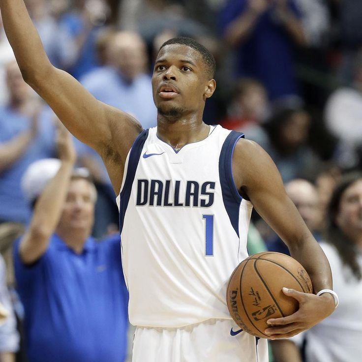 Happy Birthday to Dallas Mavericks rookie Dennis Smith Jr! Enjoy it Dennis. ---------- #magic #celtics #raptors #knicks #nets #sixers #hawks #hornets #heat #wizards #bulls #cavs #pistons #pacers #bucks #thunder #nuggets #blazers #timberwolves #jazz #lakers #warriors #kings #suns #clippers #spurs #grizzlies #rockets #basketball #nba