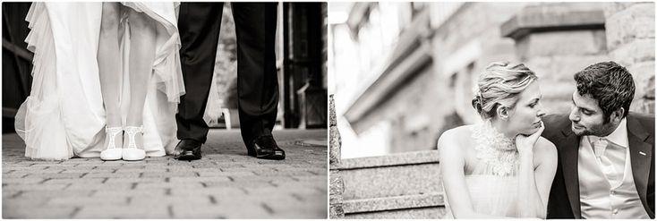 Hochzeitspaar-Shooting, Brautpaarshooting, Fotoshooting, Brautpaar, Braut, Bräutigam, Brautkleid, Anzug, Brautschuhe, Schwarz-weiß, Brautstrauß: Bloombox Düsseldorf, Hochzeit, Hochzeitsfoto, Hochzeitsfotografie, Brautsytling: Sara Menebröcker, Kartendesign: Frauke Möhlmann, Gut Mydlinghoven, Düsseldorf, Foto: Violeta Pelivan