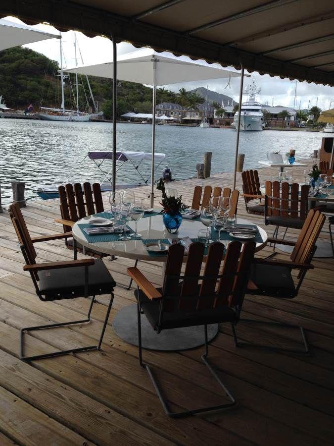 grythyttan a2 chairs at custard apple restaurant bar at english