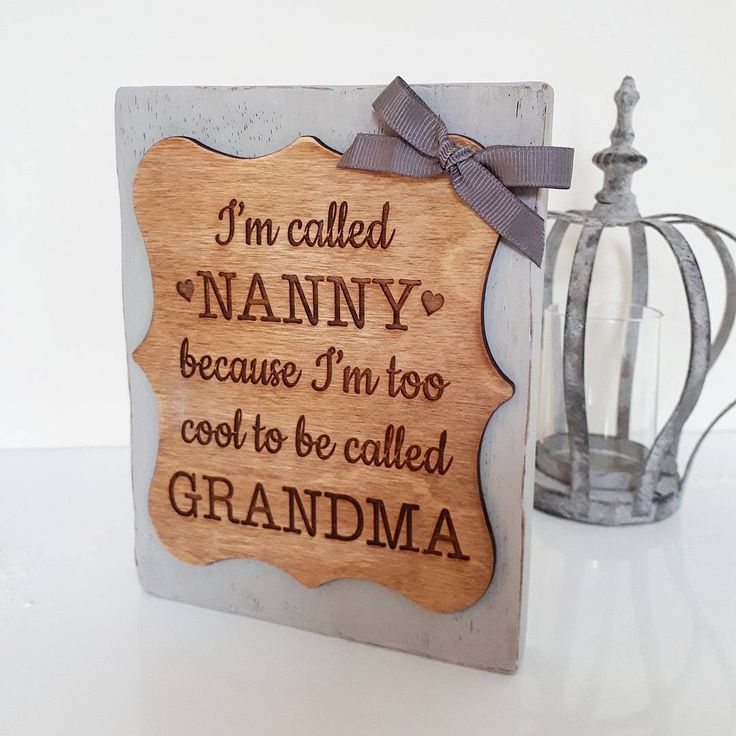 Nanny You Are Tea Riffic Wooden Gift Coaster Best Gifts From Grandchild Birthday
