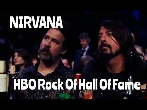 Nirvana - HBO - Rock Hall of Fame - 2014 (Joan Jett, Kim Gordon, Annie Clark of St. Vincent & Lorde tribute performances).