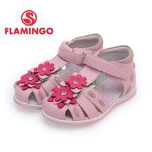Фламинго дети обувь высокое качество сандалии для девочки новая коллекция весна лето