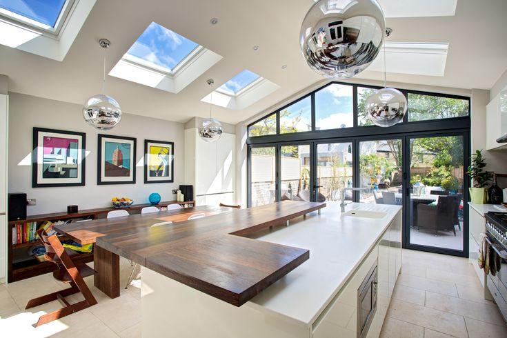 Beautiful kitchen extension by Landmark Lofts in west London!