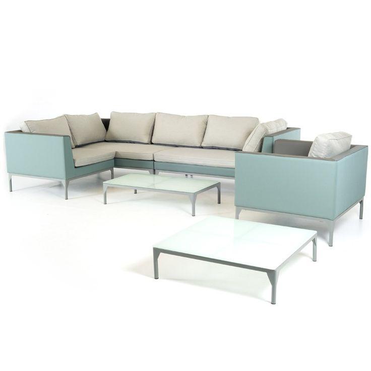 3500$ Renava Cyan Outdoor Sofa Set
