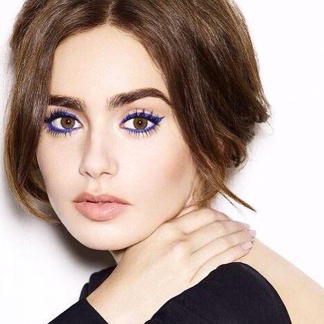 Blue eyeliner                                                       …