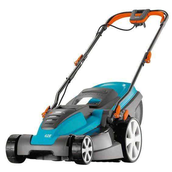 210 € Gardena Highwheel-Elektro-Rasenmäher PowerMax 42 E-R