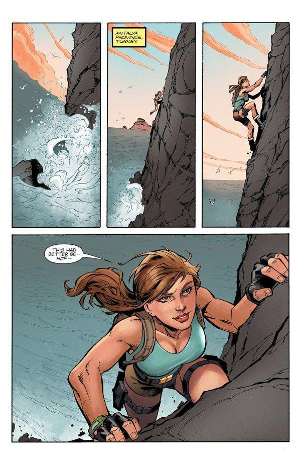 Preview Lara Croft The Frozen Omen 1 Lara Croft Tomb Raider Comic Tomb Rider