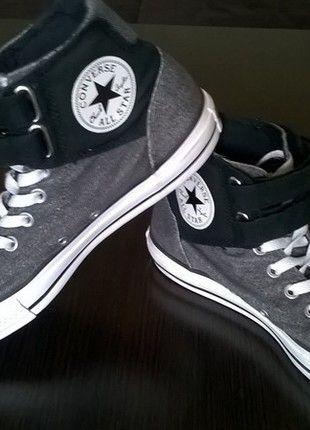 Kup mój przedmiot na #vintedpl http://www.vinted.pl/damskie-obuwie/obuwie-sportowe/13993283-wysokie-buty-converse-z-rzepami