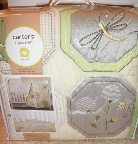 Harriet Bee Rollins 3 Piece Crib Bedding Set: NEW! Carters BUMBLE BEE 9 Piece Nursery Crib Bedding Set