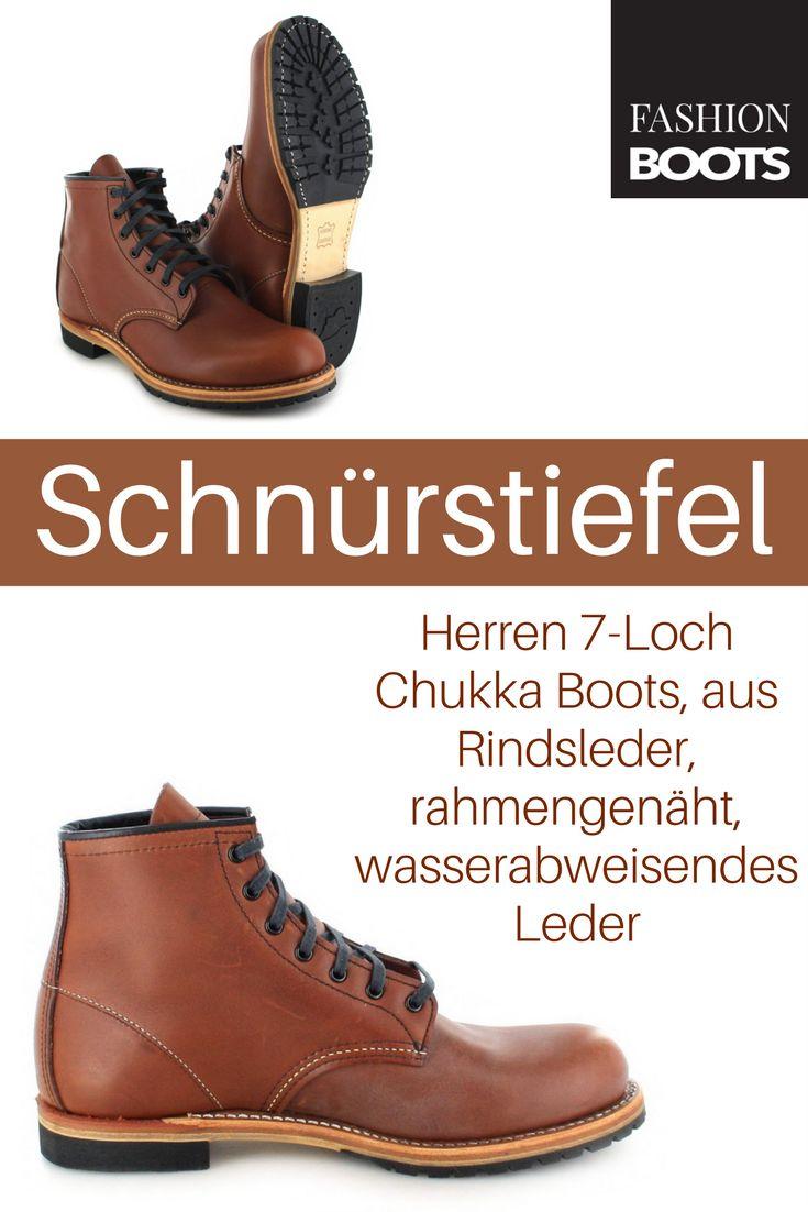 Red Wing Shoes CLASSIC DRESS 9016 Cigar Schnürstiefel - braun | Klassischer Herren 7-Loch Chukka Boots aus der Classic Dress Kollektion