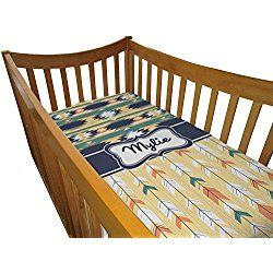 Tribal2 Crib Comforter / Quilt (Personalized)