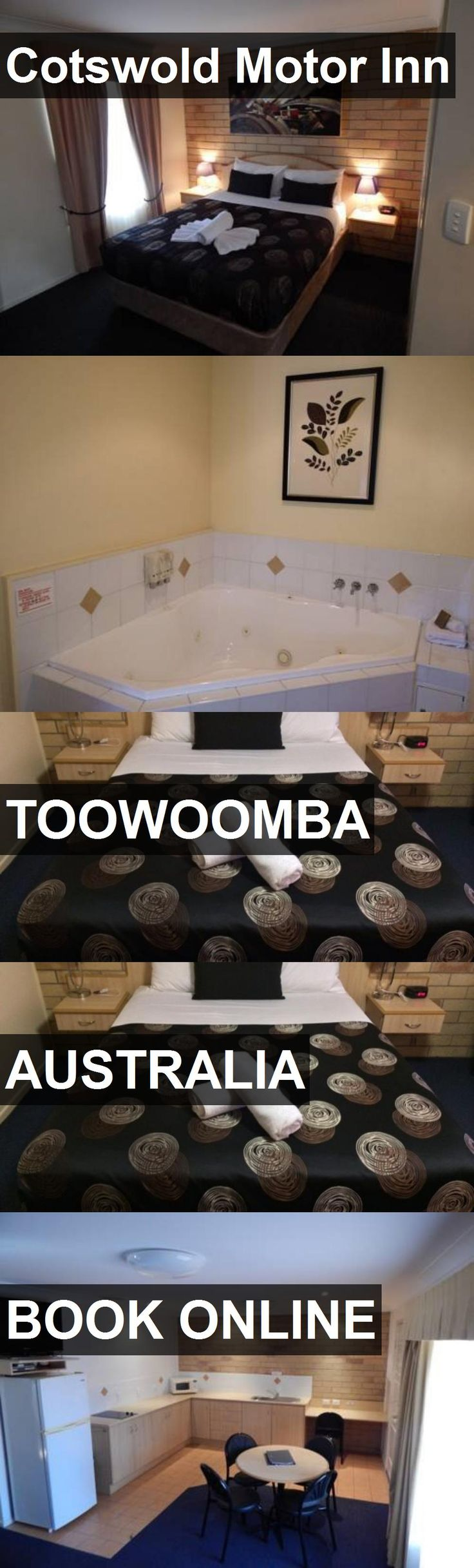 Hotel Cotswold Motor Inn in Toowoomba, Australia. For more information, photos, reviews and best prices please follow the link. #Australia #Toowoomba #hotel #travel #vacation
