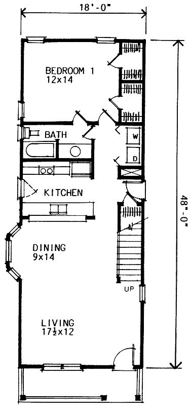 House Designs Rear Garage together with Houseplan055D 0879 moreover Floor Plans additionally Houseplan087D 0099 as well Craftsman House Plans With Porte Cochere. on narrow crafts house floor plans