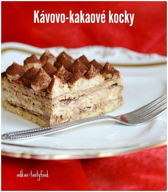 .. chute a vône mojej kuchyne...: Nepečené kávovo-kakaové kocky