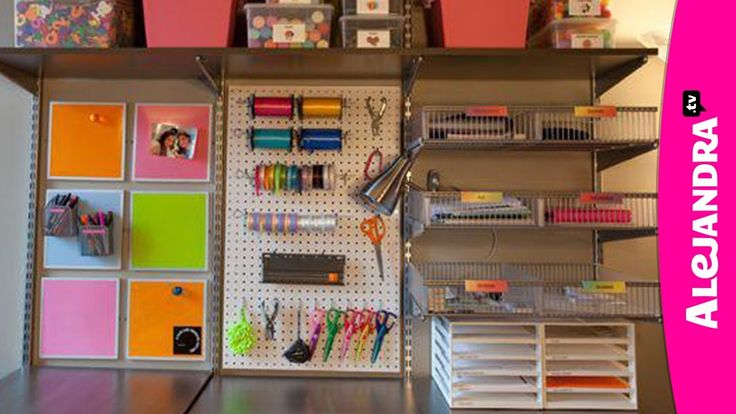 This girl has it all down to perfection!  She has some great ideas to produce a ton of space with many organizers!! X) Totally worth pinning!