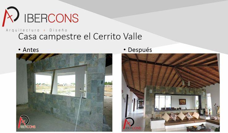 Hoy los invitamos a que conozcan nuestros proyectos campestres y de remodelación para cerrar el año con broche de oro en el diseño de tu hogar, visita nuestra pagina web: www.ibercons.com.co