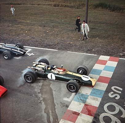 1966 @ Watkins Glen (Jim Clark, Lotus 43)