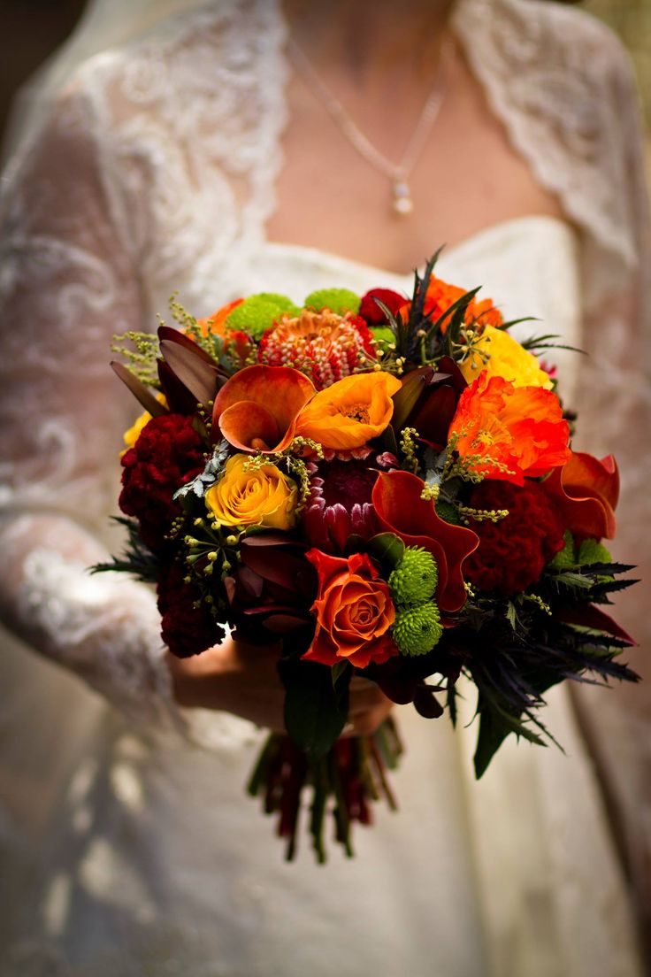 Australian natives + roses - beautiful bridal bouquet by Angie's Floral Design, Thornlands (Brisbane, QLD)