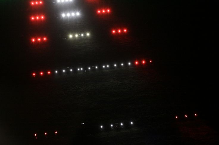 ILS cat. II system finally in #AirportGdansk! #lights #airport #ils