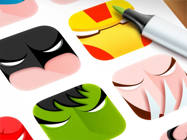 Superheroes by ArtuaArtua Sunny, Design Passion, Flats Icons, Graphics Design, Fans Art, Icons Pictogram, Superhero Icons, Superheros By Artua, Icons Design