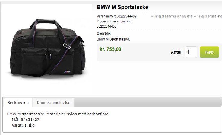 BMW Sport - Bag