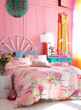 ACCESSORIZE Oriental Flower bedding set