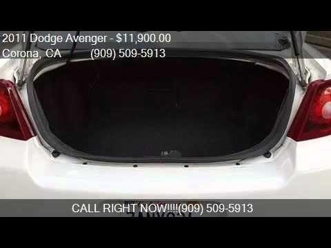 2011 Dodge Avenger Express 4dr Sedan for sale in Corona CA http://youtu.be/er-yOSMQ6BM