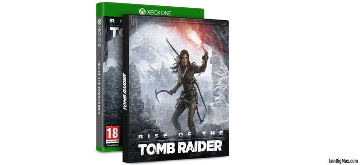 [préco] Rise of the Tomb Raider – édition steelbook (Xbox One)