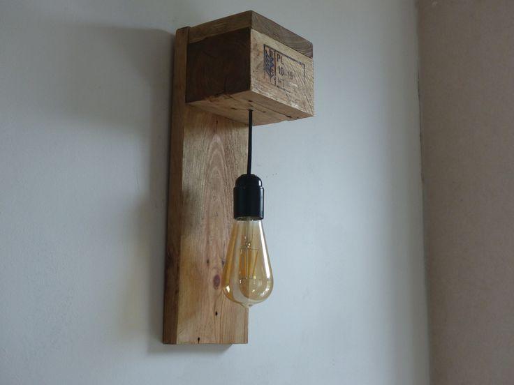 Lampe applique bois LED : Luminaires par travelwood